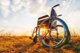 Empty Wheelchair On The Meadow.jpg