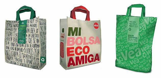 bolsa ecológica pvc promocionales