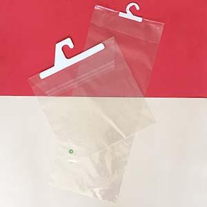 bolsa de polipropileno con percha