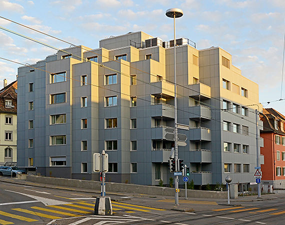 EcoRenova AG, Immobilienvertaltung Schweiz
