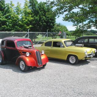 Jim Ryan's  Henry  J, Anglia AND 40 Ford