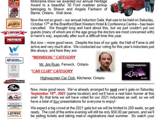 Updated Gala Information
