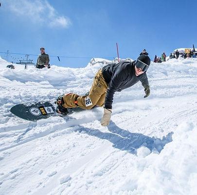 banked slalom chatel