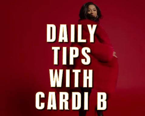 Cardi B + Steve Madden campaign