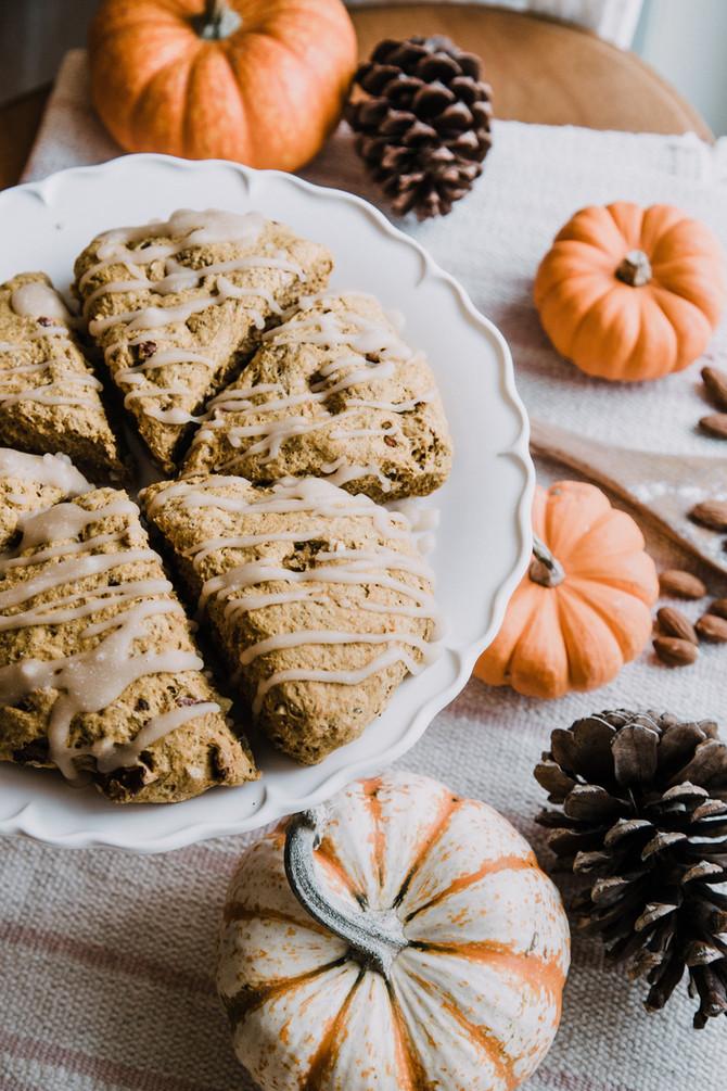 Biscuits à la citrouille