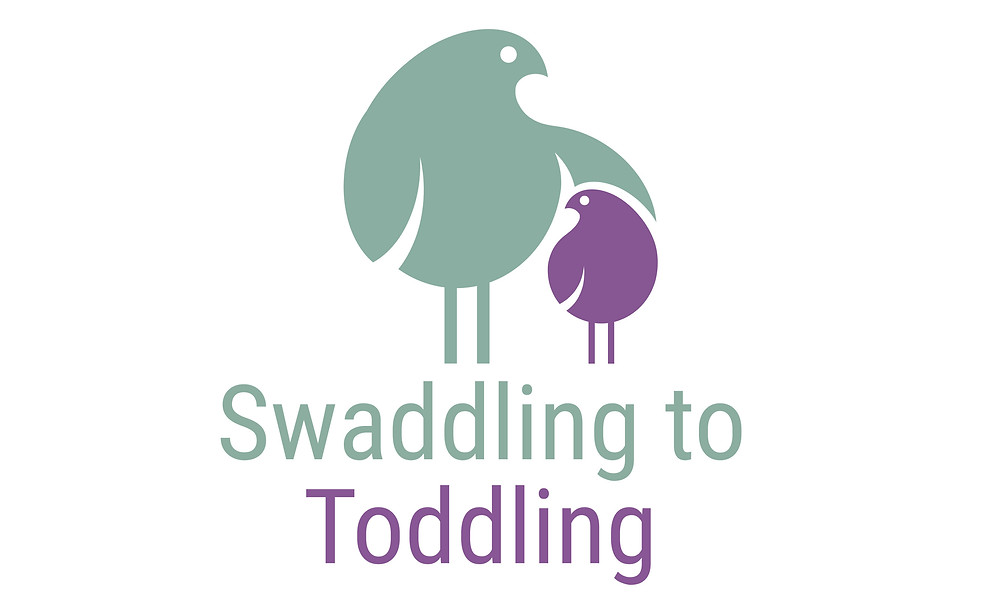 Swaddling To Toddling logo, baby care and labour classes, Bristol antenatal