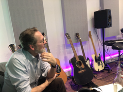 Harald im Studio