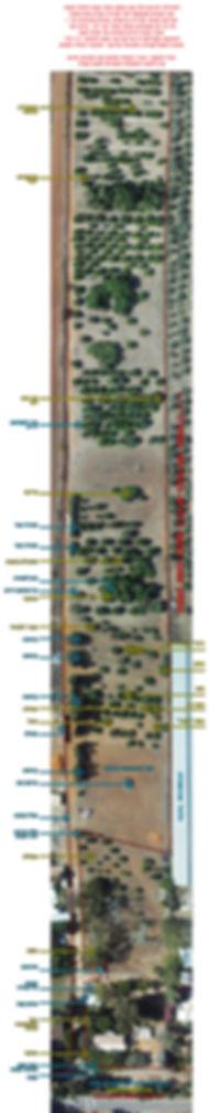 מפה של משק הקטיף העצמי בכפר נטר