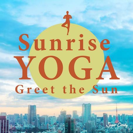 Sugar Candy『Sunrise YOGA 〜 Greet the Sun』6月26日リリース!