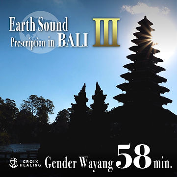 Earth Sound Prescription in BALI 〜Gender Wayang Ⅲ〜 58min.