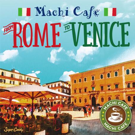 JAZZ PARADISE「街カフェサウンド~ローマよりヴェニスへ」7月31日リリース!