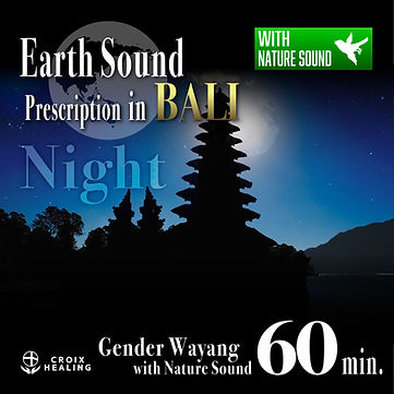 Earth Sound Prescription in BALI 〜Gender Wayang with Nature Sound〜 Night 60min.