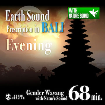 Earth Sound Prescription in BALI 〜Gender Wayang with Nature Sound〜 Evening 68min.
