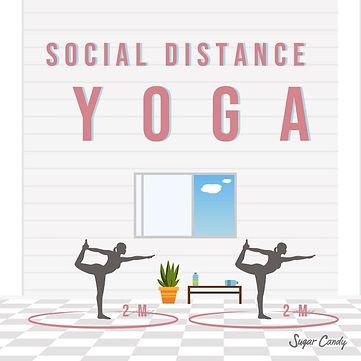 Social Distance Yoga