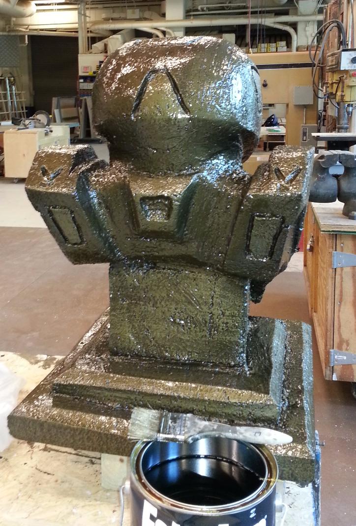 Foam Carving- Back