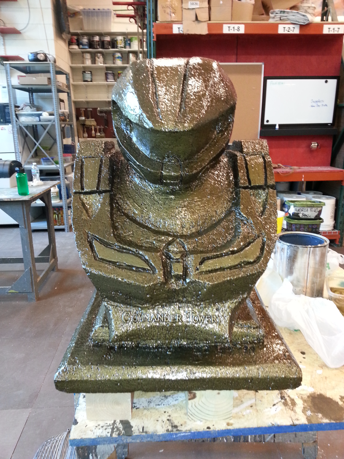 Foam Carving- Front