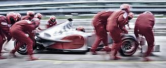 condução de corrida