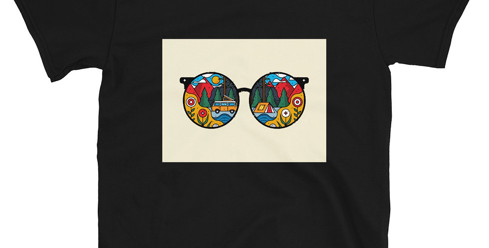 Adventurous Sunglasses Women's Premium T-Shirt
