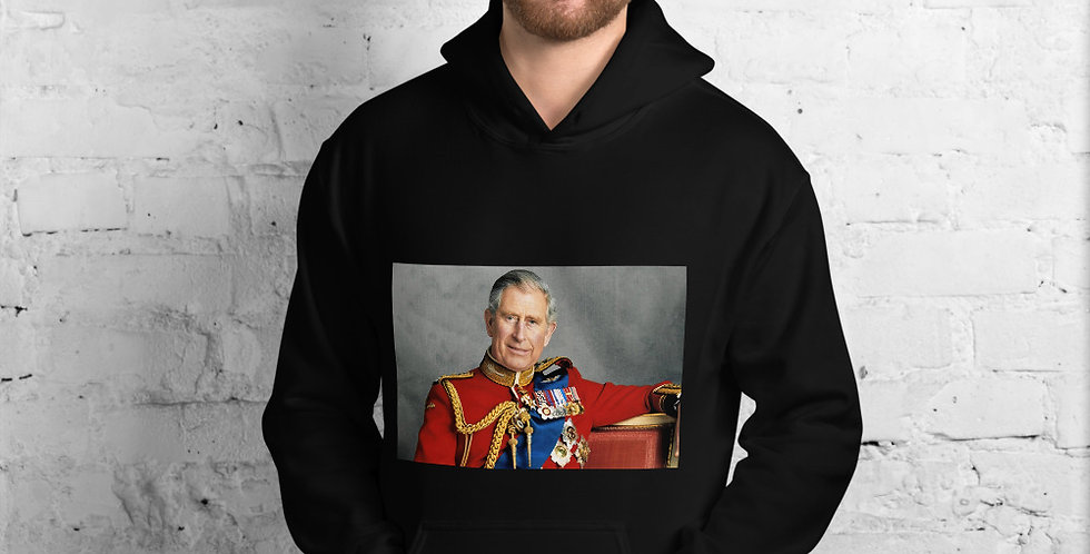 Official Prince Charles' Portrait Unisex Hoodie