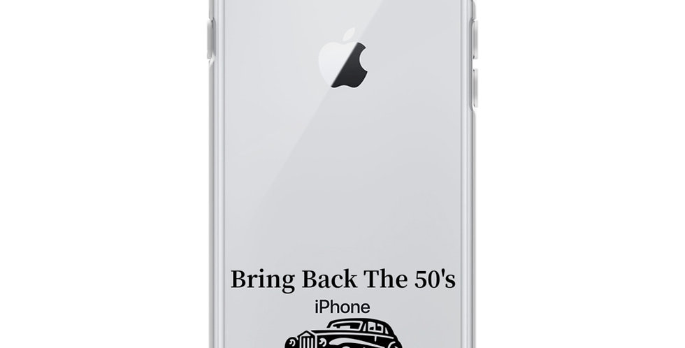 Bring Back The 50's iPhone Case