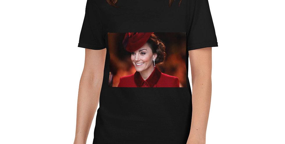 Personalised Catherine Middleton Short-Sleeve Women's T-Shirt