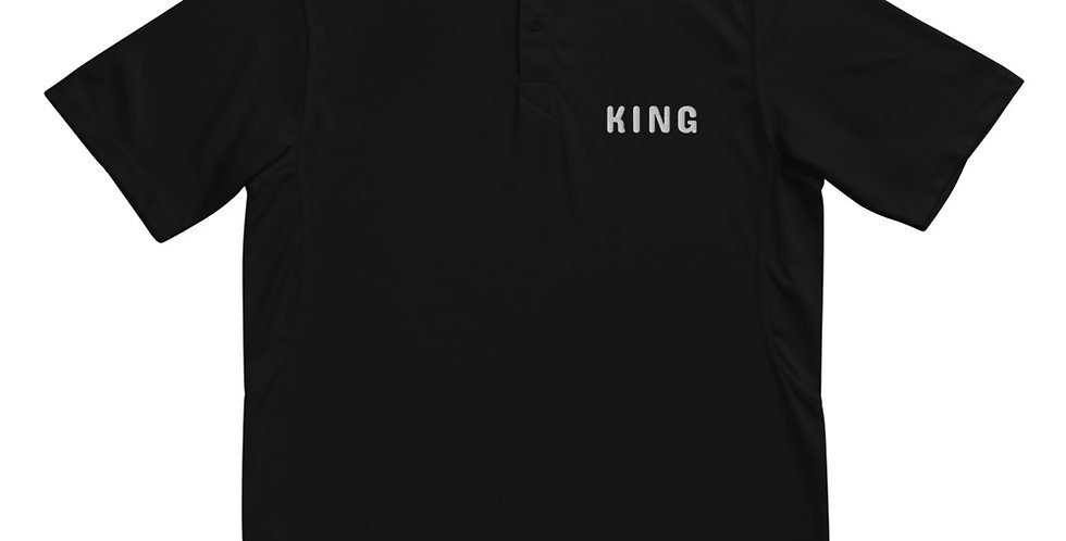 Custom Designed King Men's Champion Performance Polo