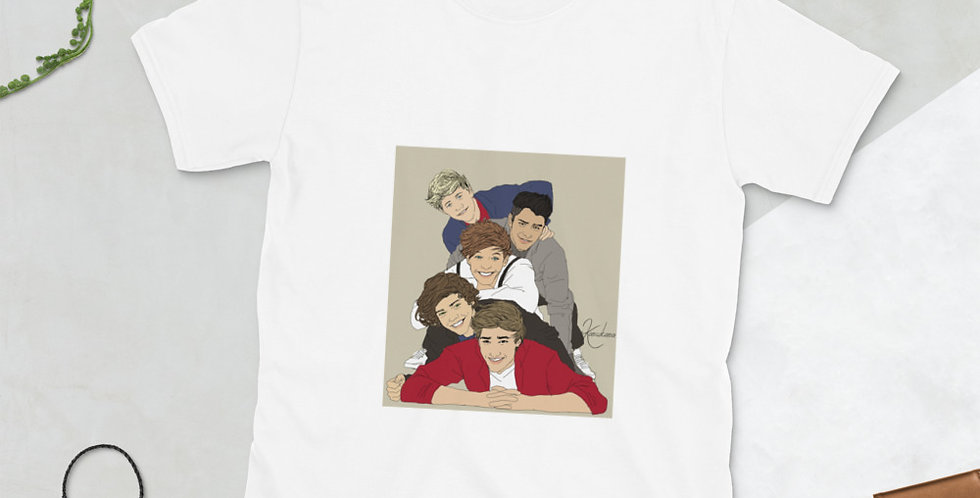 One Direction Premium Short-Sleeve Unisex T-Shirt