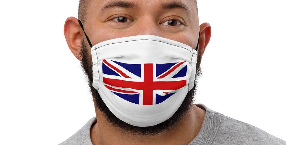 Alpha Made United Kingdom Flag's Premium face mask