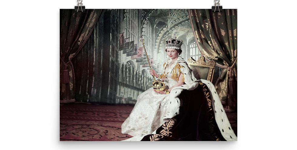 Queen Elizabeth II's Royal Poster