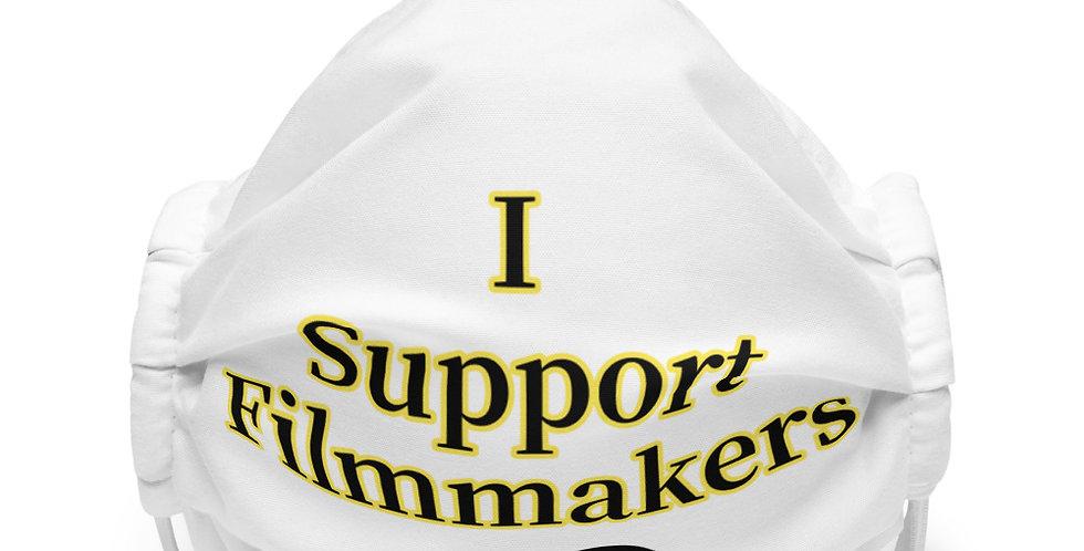 I Support Filmmakers Premium face mask