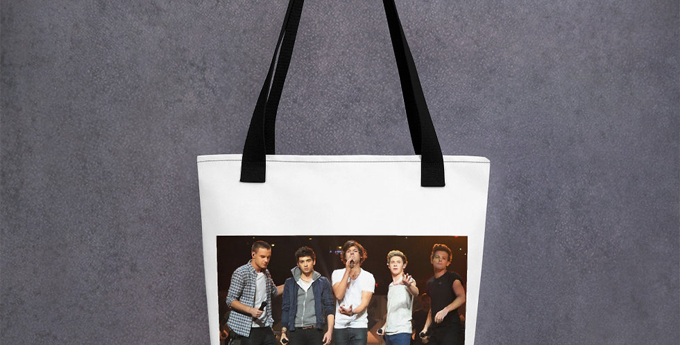 Personalised Alpha Designed One Direction Tote bag