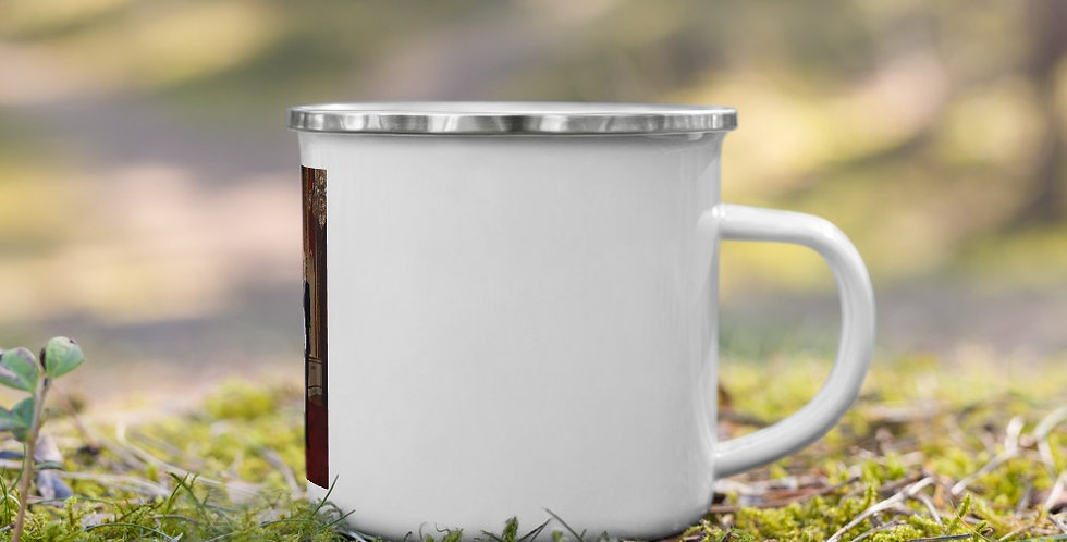 Custom Designed British Royal Family Enamel Mug