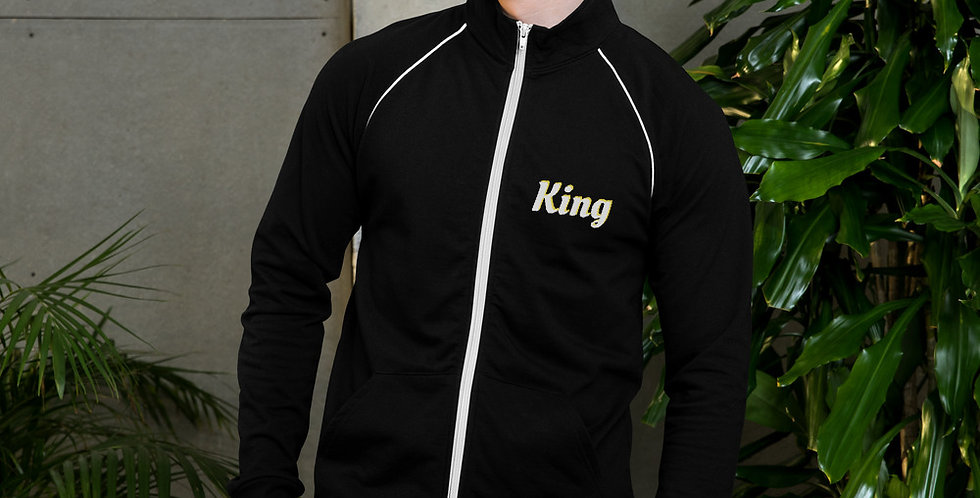 Custom Designed King Piped Fleece Jacket