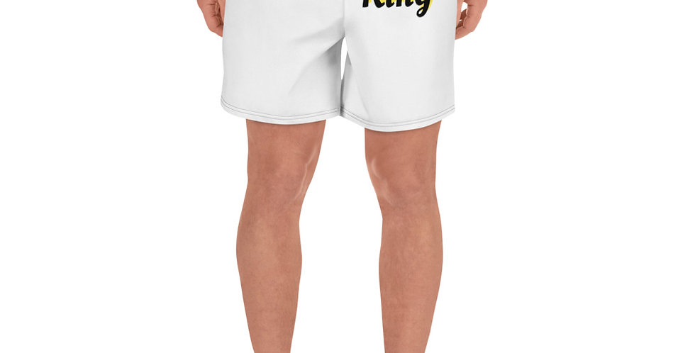 Custom Designed King Men's Athletic Long Shorts