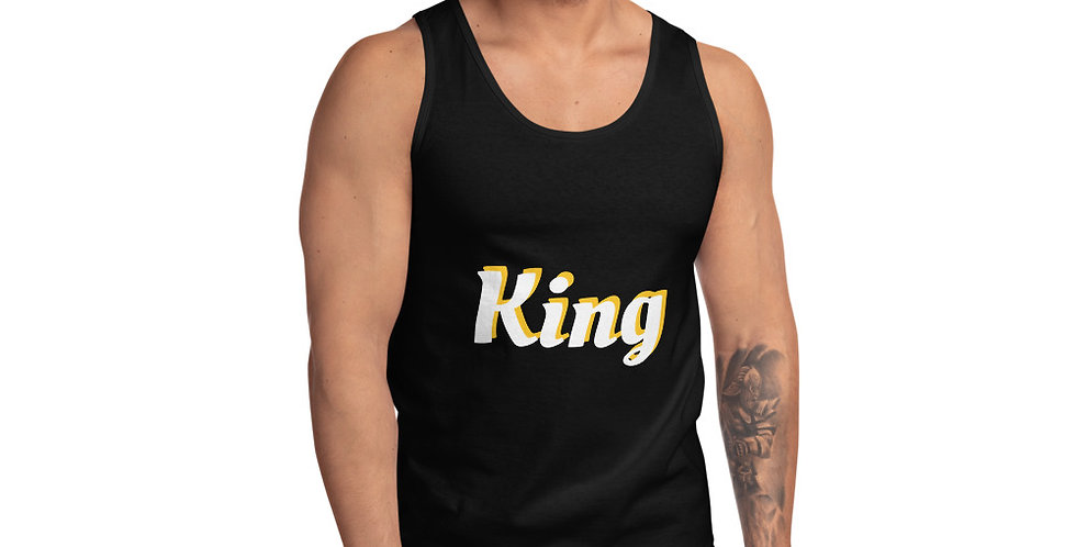 Custom Designed King Tank top
