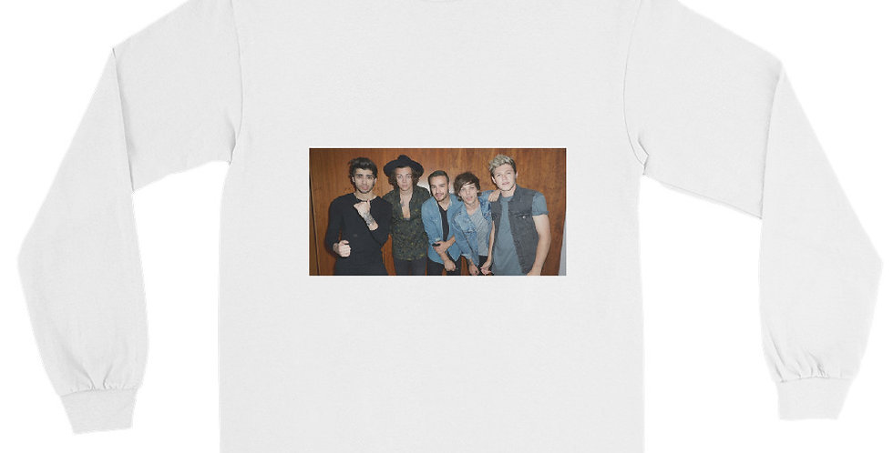 Personalised One Direction Men's Long Sleeve Shirt