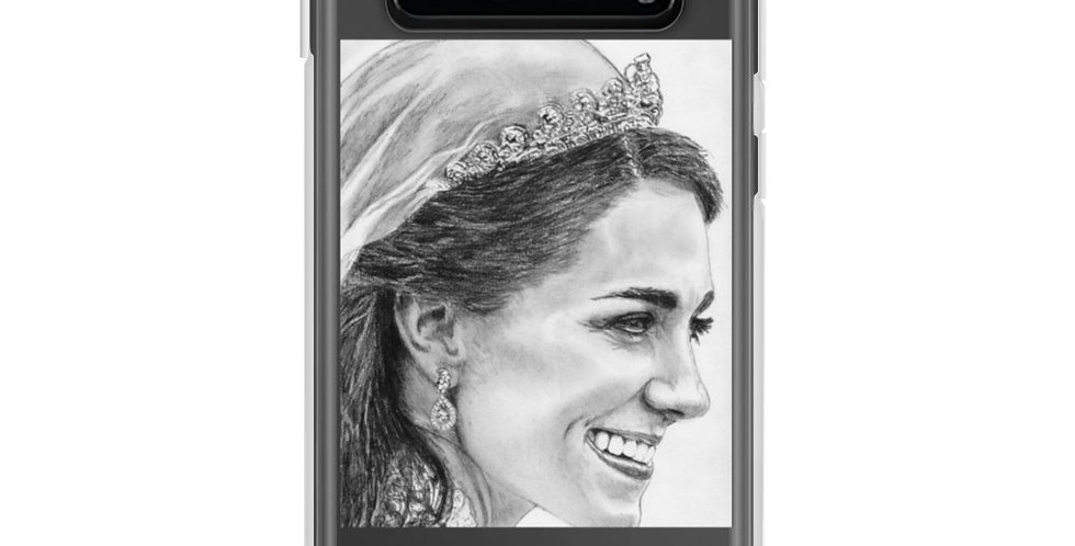 Amazing Princess Catherine Sketch's Samsung Case