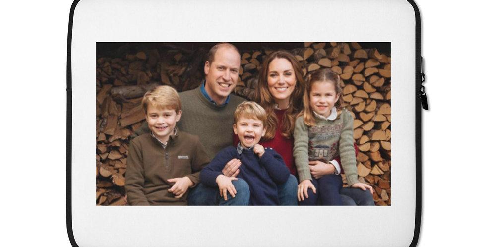 Personalised British Royal Family Laptop Sleeve