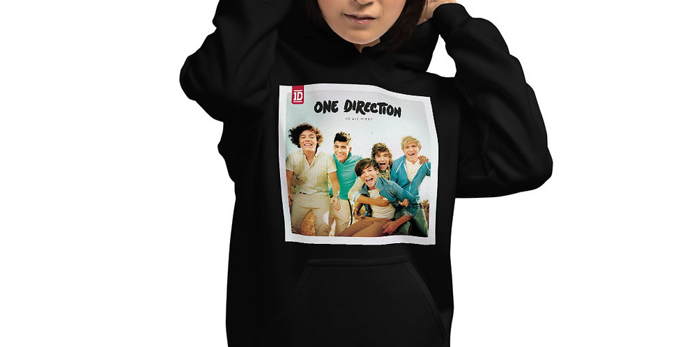 Personalised Alpha Made One Direction Up All Night Unisex Hoodie