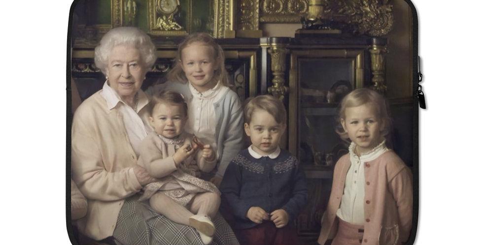 Queen Elizabeth's Portrait Laptop Sleeve