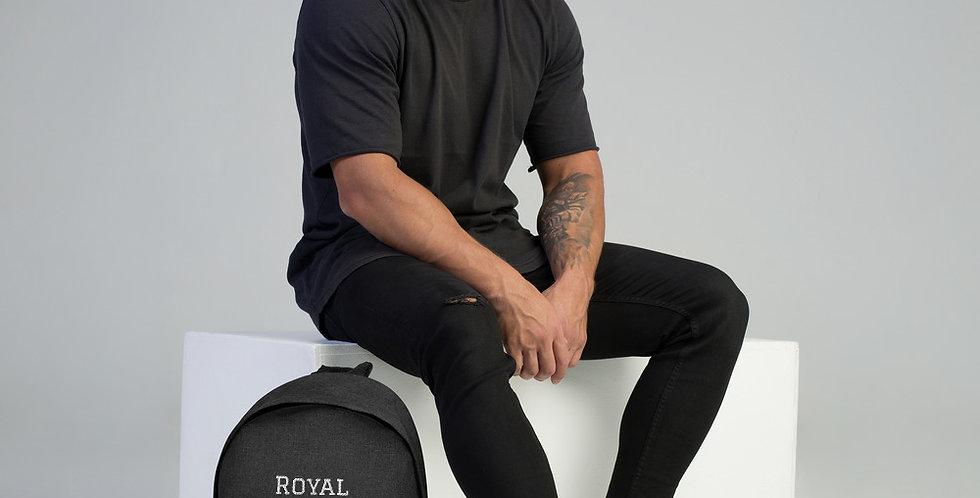Custom Royal Embroidered Backpack