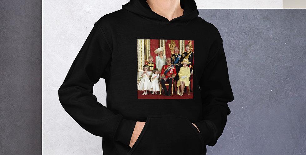 Custom Designed British Royal Family Unisex Hoodie
