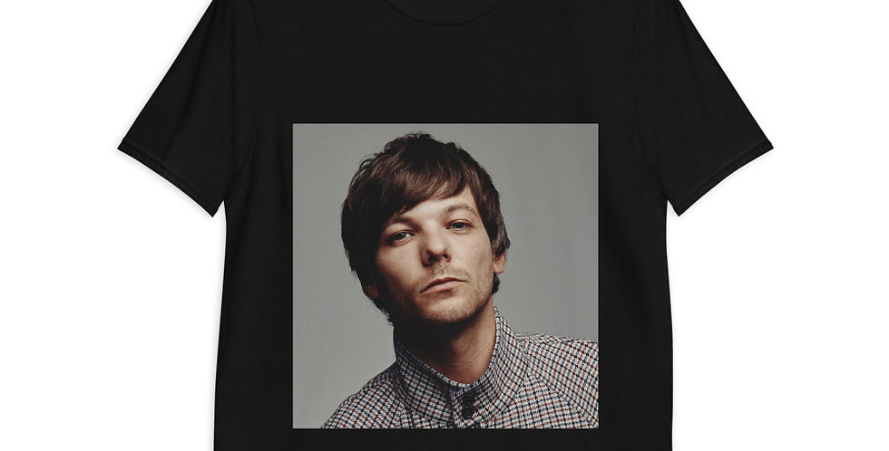 Personalised Louis Tomlinson Hans Alpha Style Unisex T-Shirt