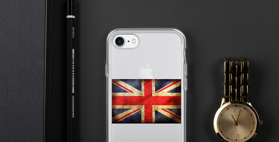 Custom Designed UK Flag iPhone Case