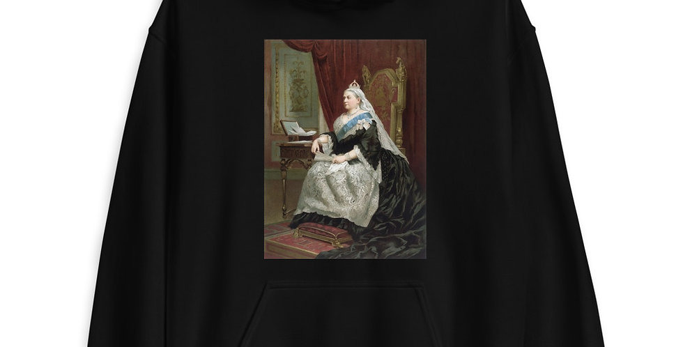Portrait of Queen Victoria Unisex Hoodie