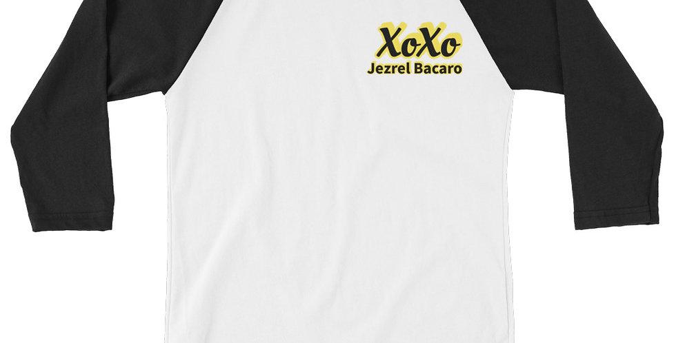 Jezrel Bacaro Premium 3/4 sleeve raglan shirt
