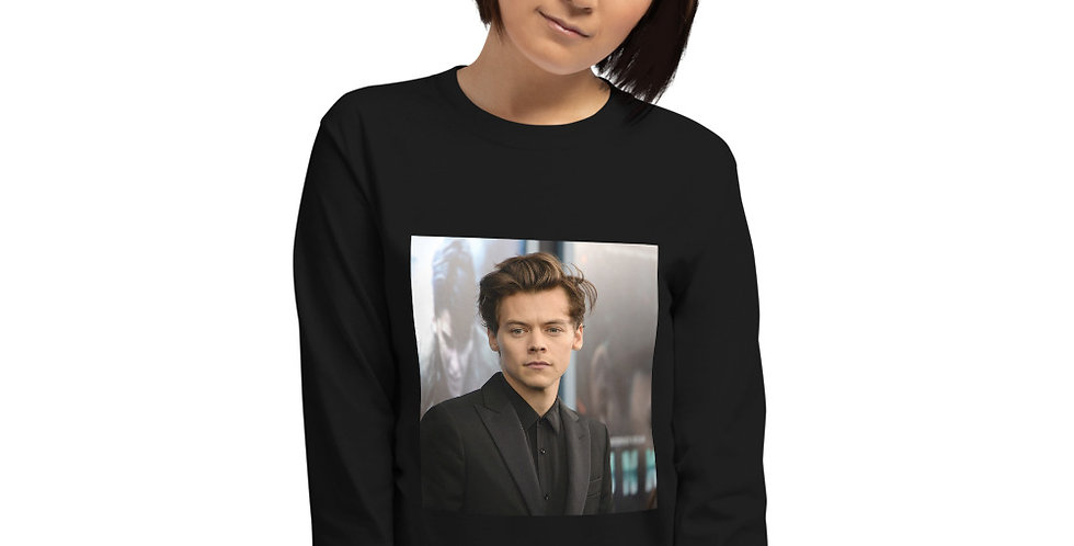 Personalised Harry Styles Women's Long Sleeve Shirt