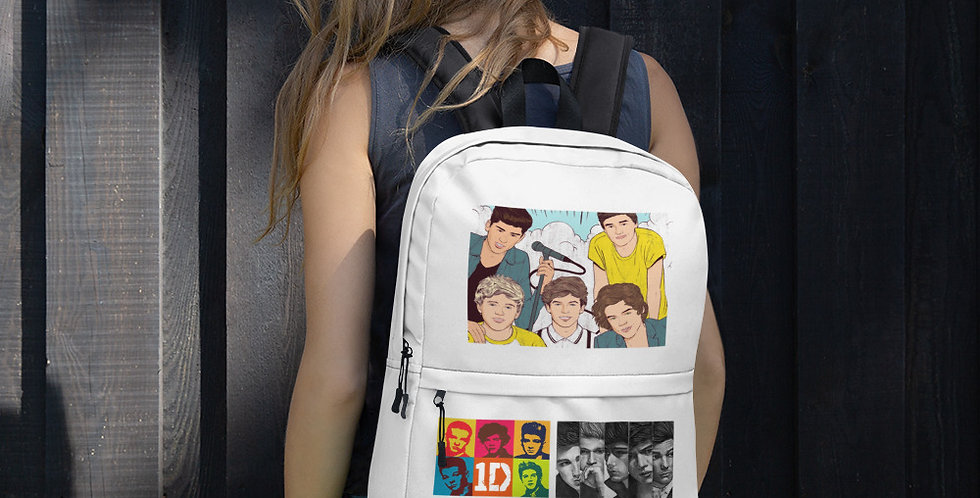 Alpha Made Premium Merchandise One Direction Backpack