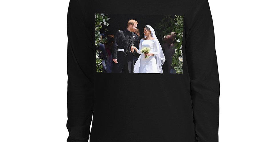 Custom Designed Prince Henry Wedding Photo Men's Long Sleeve Shirt