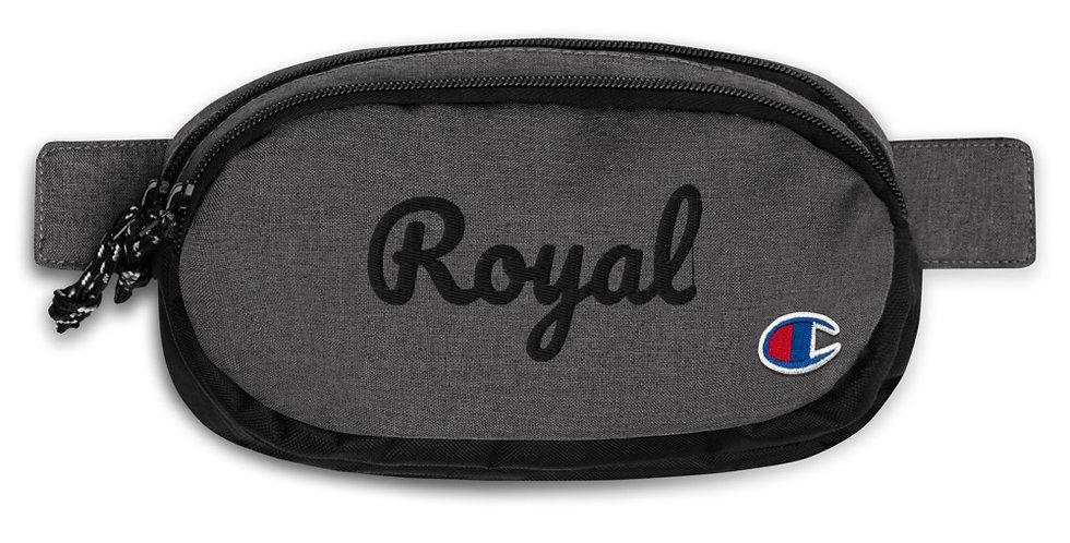 Customised 'Royal' Champion fanny pack